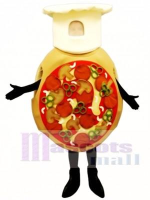 Verrücktes Pizza Maskottchen Kostüm