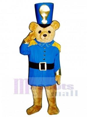 Soldat Bär Maskottchen Kostüm