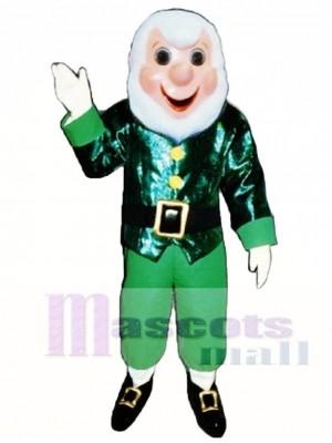 Opa Elf Weihnachten Maskottchen Kostüm Menschen