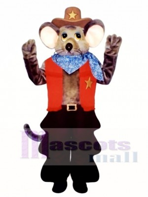 Wyatt Ratte Maskottchen Kostüm