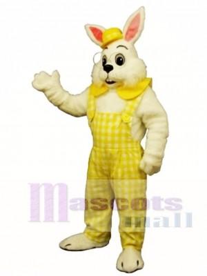 Ostern Egbert Hase Kaninchen mit gelbem Maskottchen Kostüm