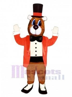 Nettes Tanzen Bären Maskottchen Kostüm
