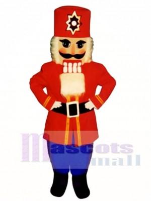 Nussknacker Weihnachten Maskottchen Kostüm