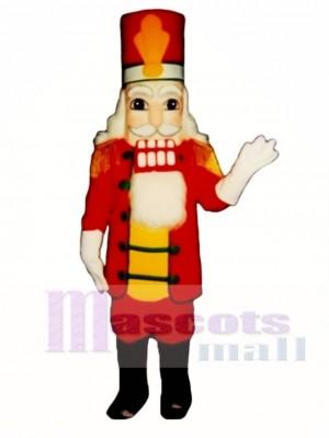 Marschierendes Nussknacker Maskottchen Kostüm Weihnachten Xmas