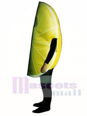 Zitrone Wedge Maskottchen Kostüm Obst