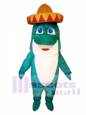 Niedlich Senor Fisch Maskottchen Kostüm Tier