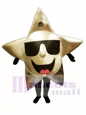 Star mit Schattierungen Maskottchen Kostüm