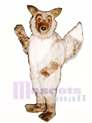 Nettes wildes Wolf Maskottchen Kostüm