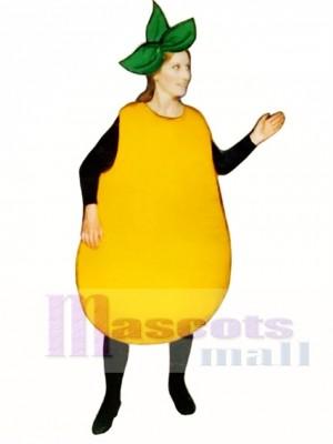 Birne Maskottchen Kostüm Obst