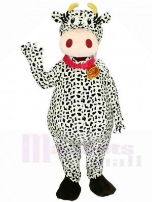 Kuh mit Glocken Maskottchen Kostümen Tier