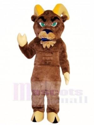 Braun Ram Maskottchen Kostüme Tier