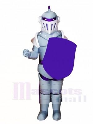 Silber Knight Maskottchen Kostüme Menschen