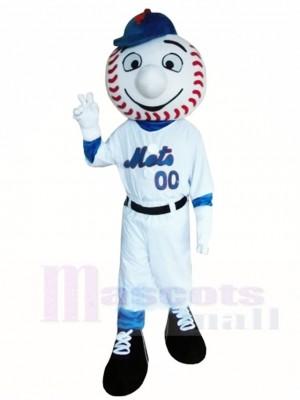 Baseball Ballspieler Herr Mets Maskottchen Kostüme Menschen