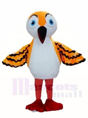 Orange Spatz Maskottchen Kostüme Vogel