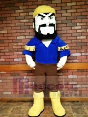 Schwarz Bart Voyageur Boatman Woodman Maskottchen Kostüme Menschen