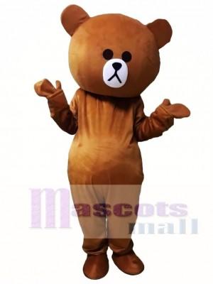 Braun Bär Maskottchen Kostüme Linie Stadt Freunde Brown Bear