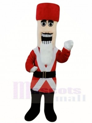 Marschieren Nussknacker Maskottchen Kostüme Leute Weihnachten
