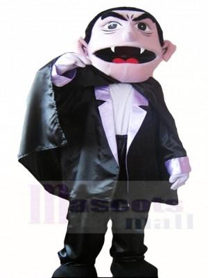 Sesam Straße der Graf von Vampir Maskottchen Kostüme