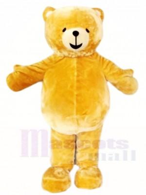 Braun Teddybär Maskottchen Kostüme Tier