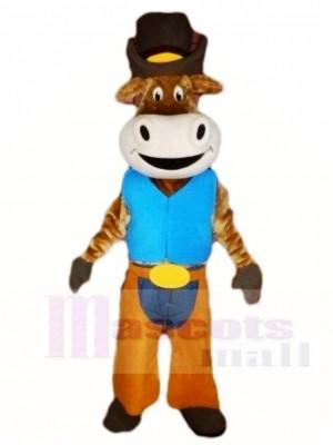Ochse Das Vieh Cowboy Maskottchen Kostüme Tier