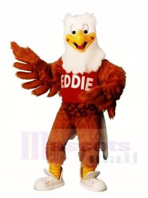 Braun Eddie Eagle Maskottchen Kostüme Tier