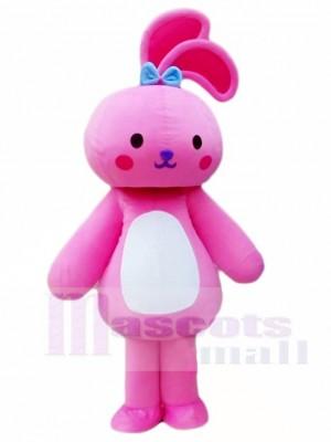 Rosa Kaninchen Hase Maskottchen Kostüme Tier