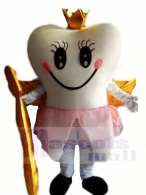 Golden Zahn Fee Zähne Maskottchen Kostüme