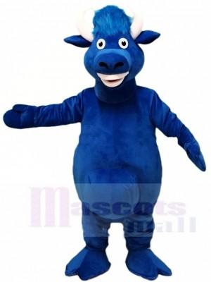Blau Stier Maskottchen-Kostüme Bauernhof Tier