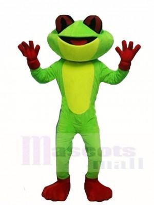 Frosch Maskottchen Kostüm Tier