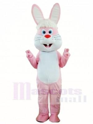 Lustiges rosafarbenes Kaninchen Ostern Häschen Maskottchen Kostüme Tier