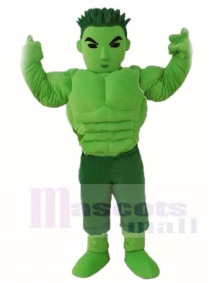 Das unglaubliche Hulk Maskottchen Kostüme Menschen