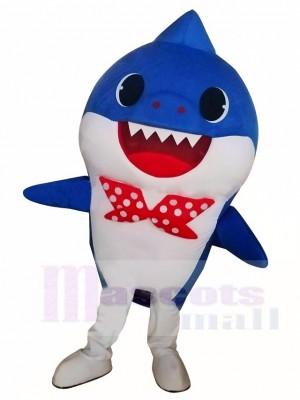 PinkFong Blau Baby Hai Maskottchen Kostüme Seeozean Karikatur