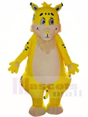 Gelb Tiger Maskottchen Kostüme Tier