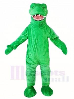 Grünes Krokodil Alligator Maskottchen Kostüme Tier