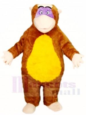 Affe König Maskottchen Kostüme Tier