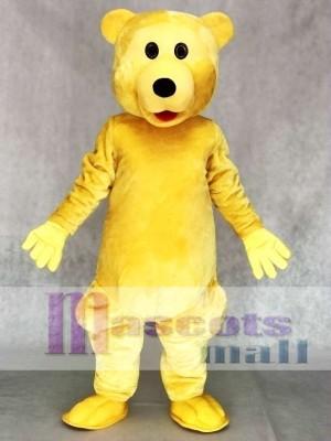 Hell braunes Bär Maskottchen Kostüm Tier