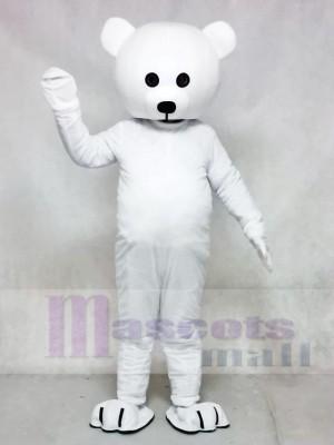 Schwarz Nase Weiß Bär Maskottchen Kostüm Tier