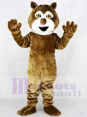 Cute Lynx Cat Mascot Costumes Animal