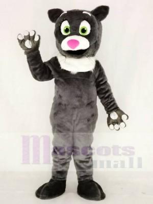 Behaarte graue Katze Maskottchen Kostüme Tier
