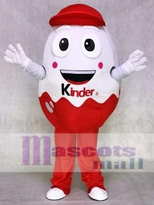 Kinder Ei Kinder Überraschung Freude Osterei Maskottchen Kostüm