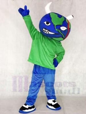 Kruel World Clothing Globus der Erde Maskottchen Kostüme Tier