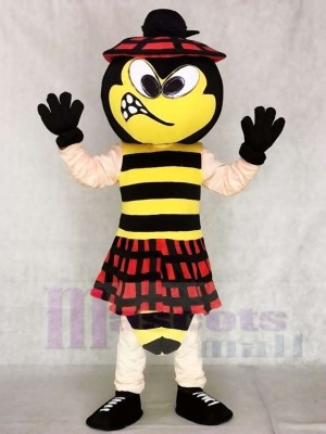 Cute KILTY Bee Mascot Costumes Insect