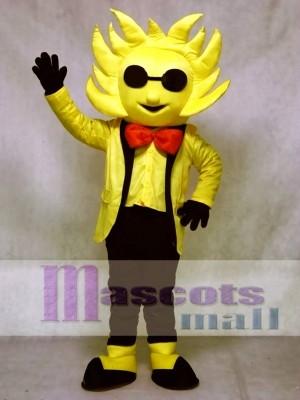 Mr. Sunshine Maskottchen Kostüm mit Sonnenbrille