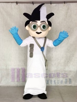PJ Masken Romeo Evil Scientist Maskottchen Kostüme Cartoon