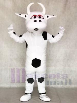 Groß Schwarz Punkt Kuh Maskottchen Kostüme Tier