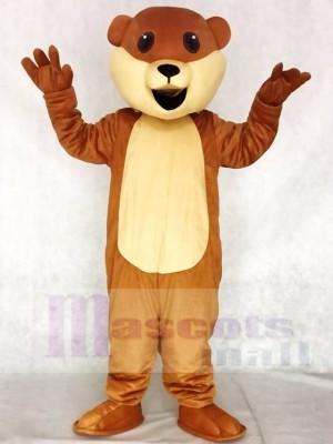 Ollie Otter Maskottchen Kostüme Tier ohne Schnurrhaare