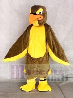 Erwachsene Braun Falke Maskottchen Kostüme Tier