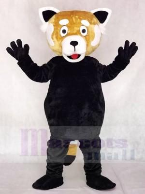 rot Lesser Panda Katze-Bär Maskottchen Kostüme Tier