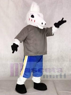 Netter Sport Schule Pferd Maskottchen Kostüme Tier