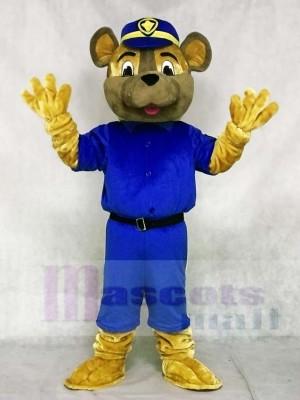 Saskatoon Polizei Bedienung Sarge Hund Maskottchen Kostüm Tier